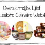 Overzichtelijke Lijst – De Leukste Culinaire Webshops