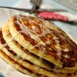 Recept: Cinnamon Roll Pancakes (kaneel pannenkoeken)