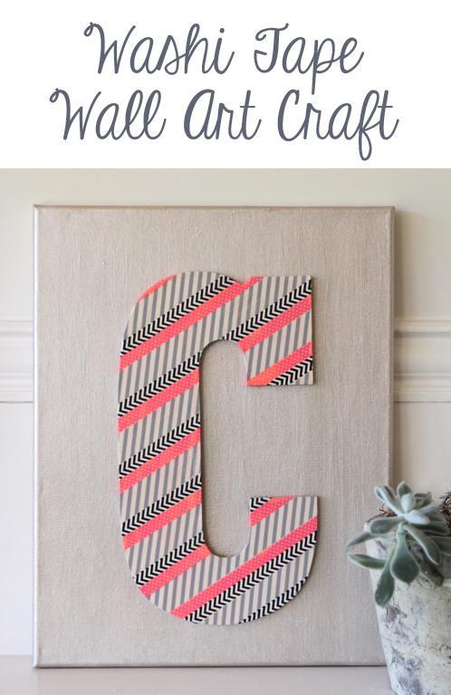 Washi-Tape-wall-art-cadeau-maken