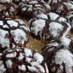 Recept: Chocolate Crinkle Cookies