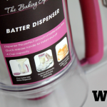 WIN! handige cupcake beslag dispenser