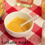 DIY: kurkuma masker tegen acne en rimpels