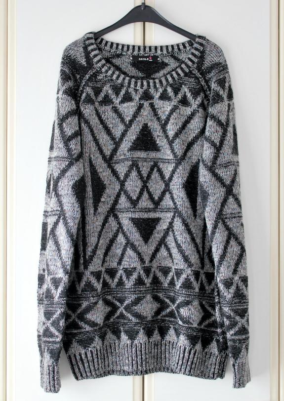sevenbien-zwart-witte-trui