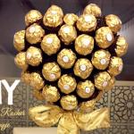DIY: maak je eigen Ferrero Rocher boompje