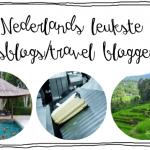 Nederlands leukste reisblogs / travel bloggers