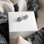New in – Pandora zilveren oorstekers