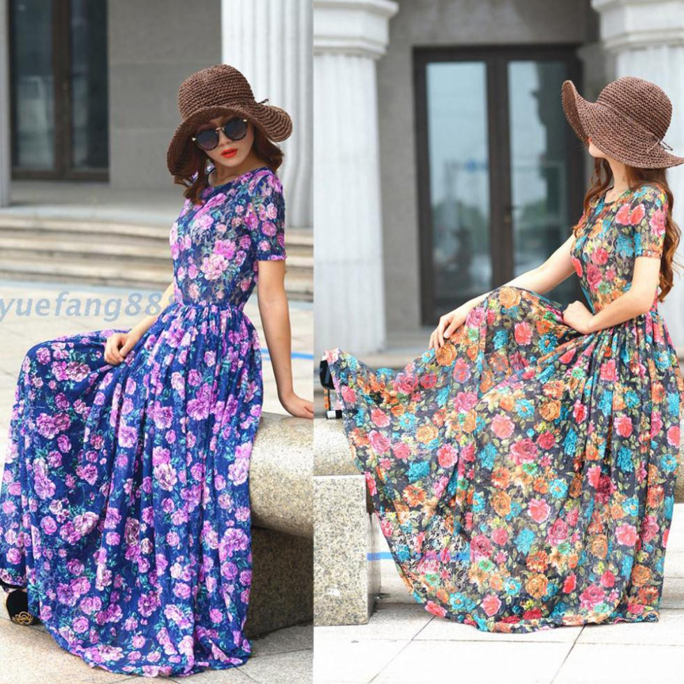 2014-New-floral-lace-dress-women-s-vintage-long-dress-plus-size-short-sleeve-maxi-dress