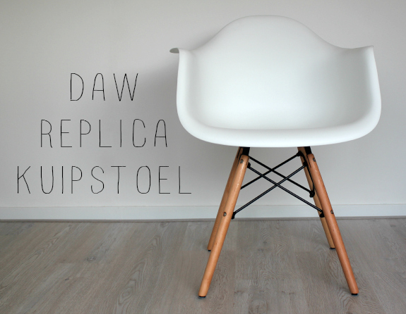 Interieur tip daw replica kuipstoel womanistical for Eames vitra replica