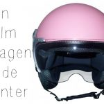 Een helm dragen in de winter