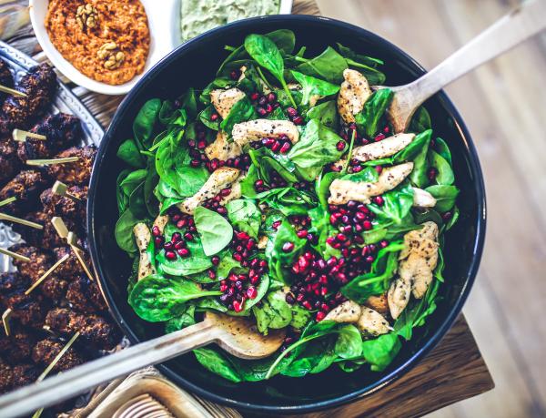 Salade gezonde lunch