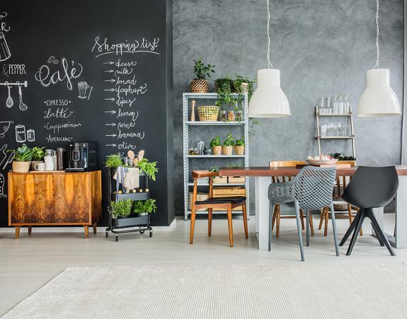 lege-muur-krijtbord-verf-maken-keuken