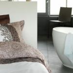 Met Vandyck worden ook je bed en badkamer modieus