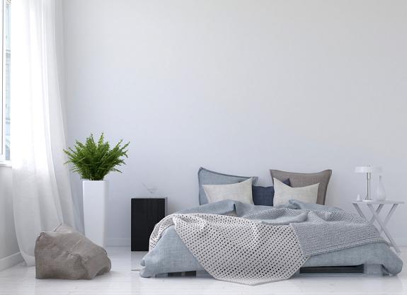 minimalistisch-slaapkamer-bed