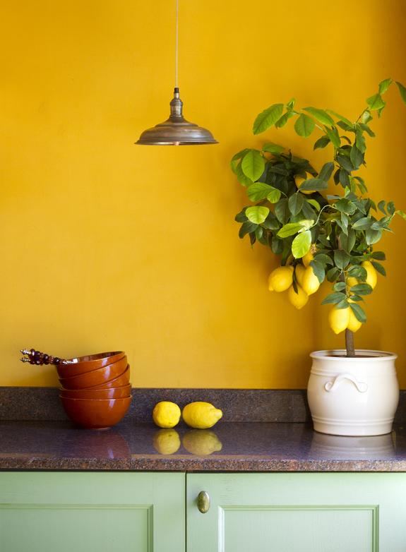 keuken-kleur-inrichten-geel