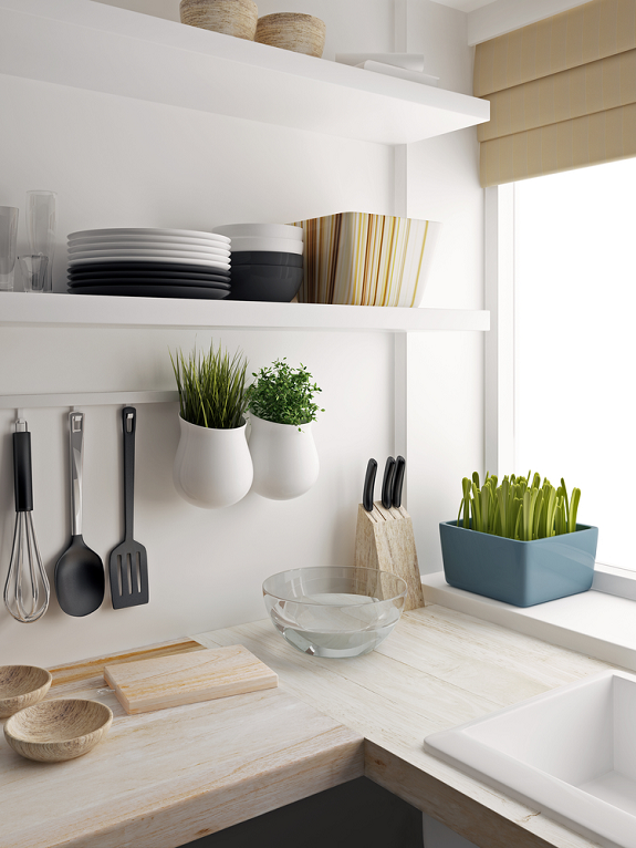Tips om je keuken mooi n praktisch in te richten - Heel mooi ingerichte keuken ...